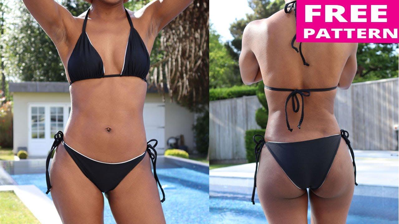 photo Free string bikini