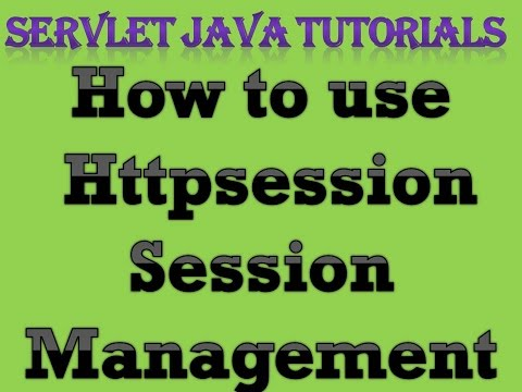 Servlet Java Tutorial Part 7 How to use HttpSession Session Management