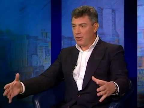 Смотреть Борис Немцов // В Нью-Йорке с Виктором Топаллером онлайн