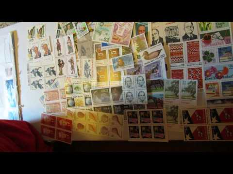 Unboxing Ebay Purchase Of Vintage Unused Stamps Below Face Value