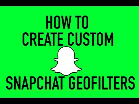 Creating Snapchat GeoFilter - On-Demand Filters