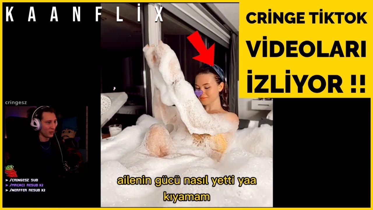KAANFLİX | CRİNGE TİKTOK VİDEOLARI İZLİYOR !! (TİKTOK)