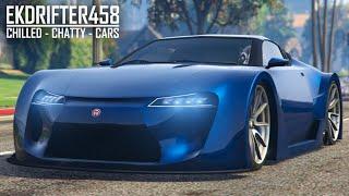 GTA Online Cunning Stunts DLC - Lexus LFA/Emperor ETR1 Customisation & Drive - EK