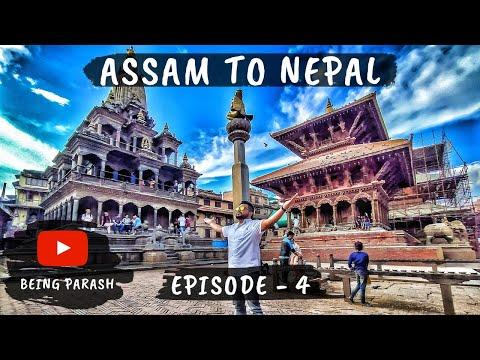 Patan Durbar Square in Kathmandu Nepal - Ep04 - Nepal Earthquake Damages in 2015 - India to Nepal