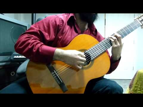 Kingdom Hearts - Dearly Beloved & Reprise Classical Guitar Cover