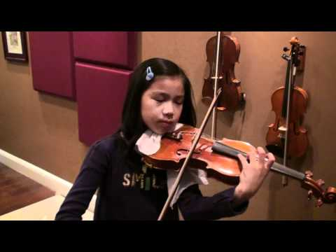Kiss the Rain by Yiruma - Jocelyn 10 violin