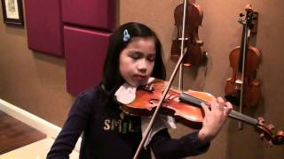 Kiss the Rain by Yiruma - Jocelyn 10 violin