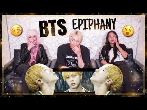 BTS (방탄소년단) 'Epiphany' Comeback Trailer REACTION! JINTRO!