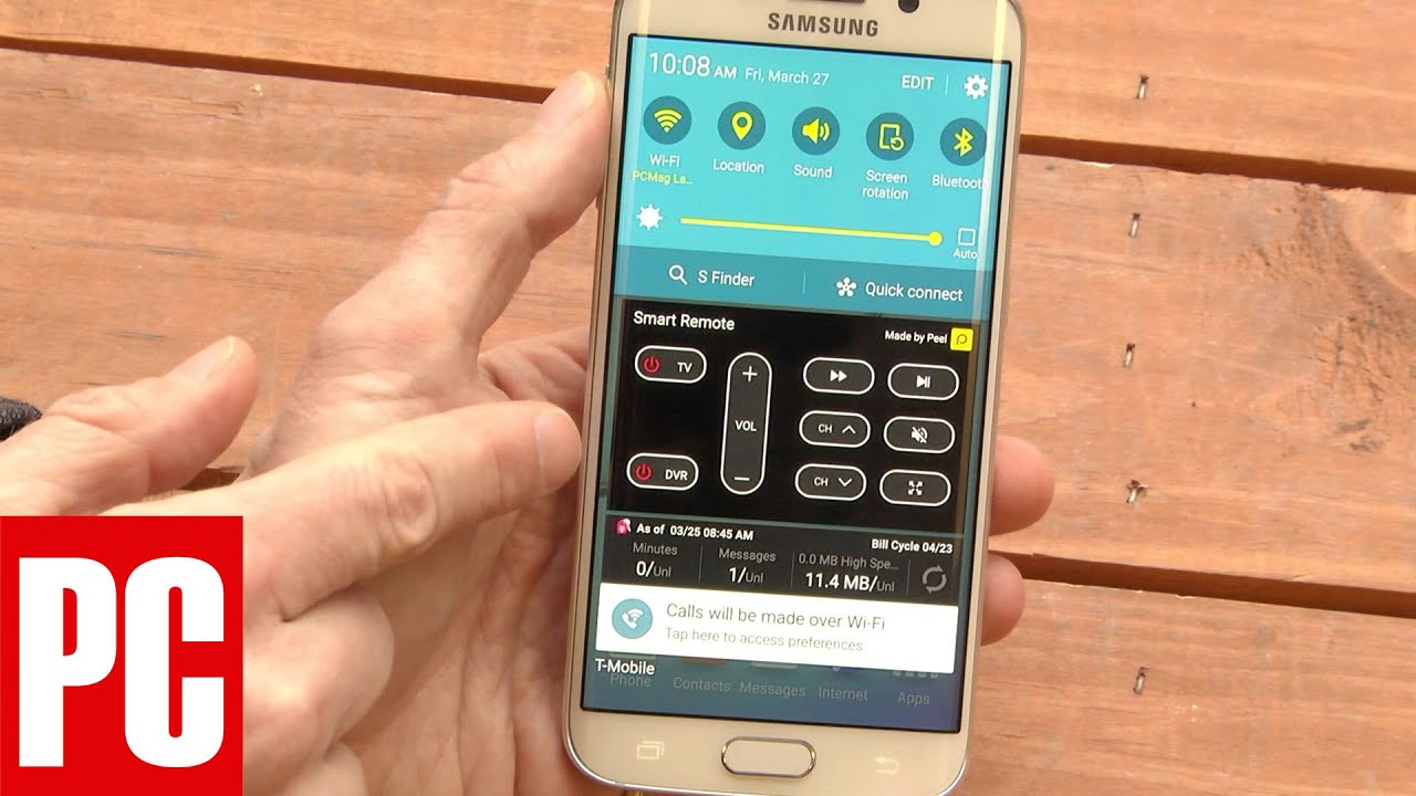 How to Use and Disable Smart Remote on the Samsung Galaxy S6