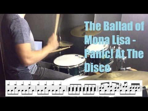 The Ballad Of Mona Lisa Drum Tutorial - Panic! At The Disco