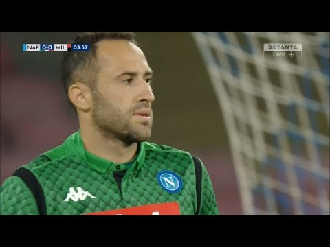 David Ospina vs AC Milan (25/08/2018) HD 720p 50fps - Official Debut