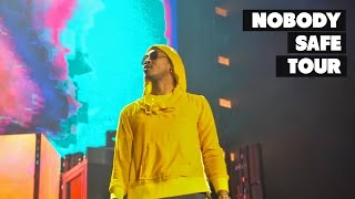 How lit ???? is a future concert? | nobody safe tour atl