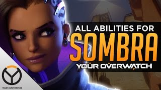 Overwatch: ALL Sombra Abilities And Cooldowns