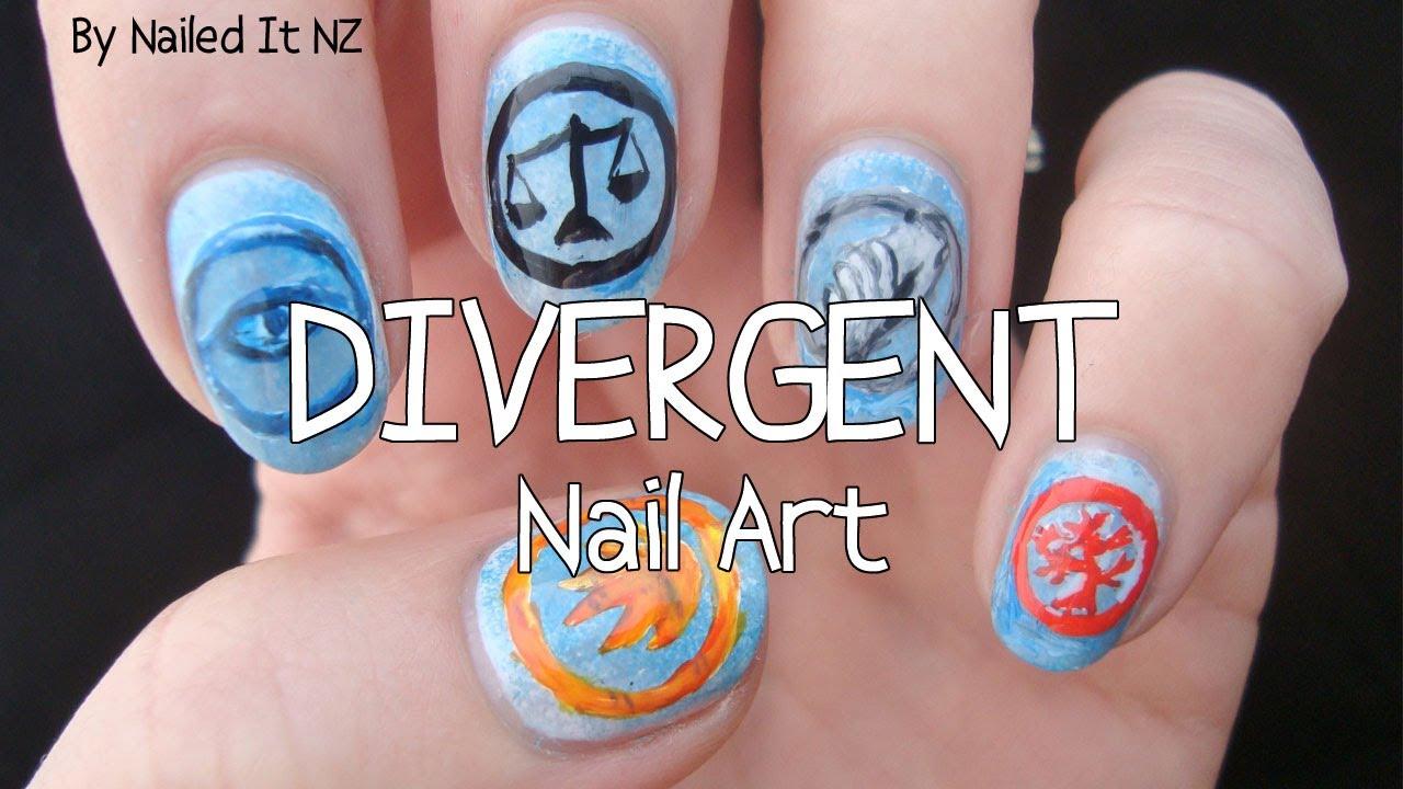 Divergent Nail Art Youtube