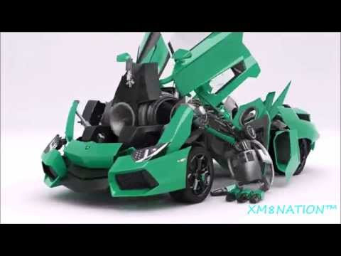 Bumblebee as Lamborghini, transformation/animation design