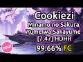 Cookiezi | Minamo no Sakura, Yume wa Sakayume [7.47] | HDHR 99.66% FC | Liveplay w/ Twitch Chat