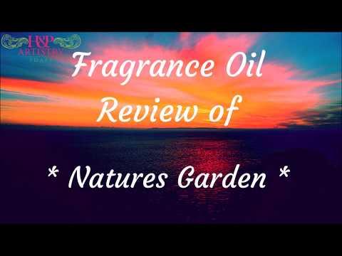 Natures Garden Fragrance oil Review YT