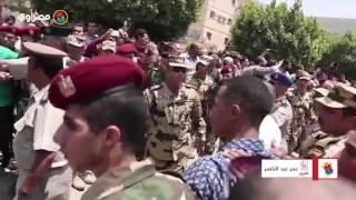 بالصور والفيديو- محمد رمضان يشارك في تشييع جثمان الشهيد أحمد المنسي