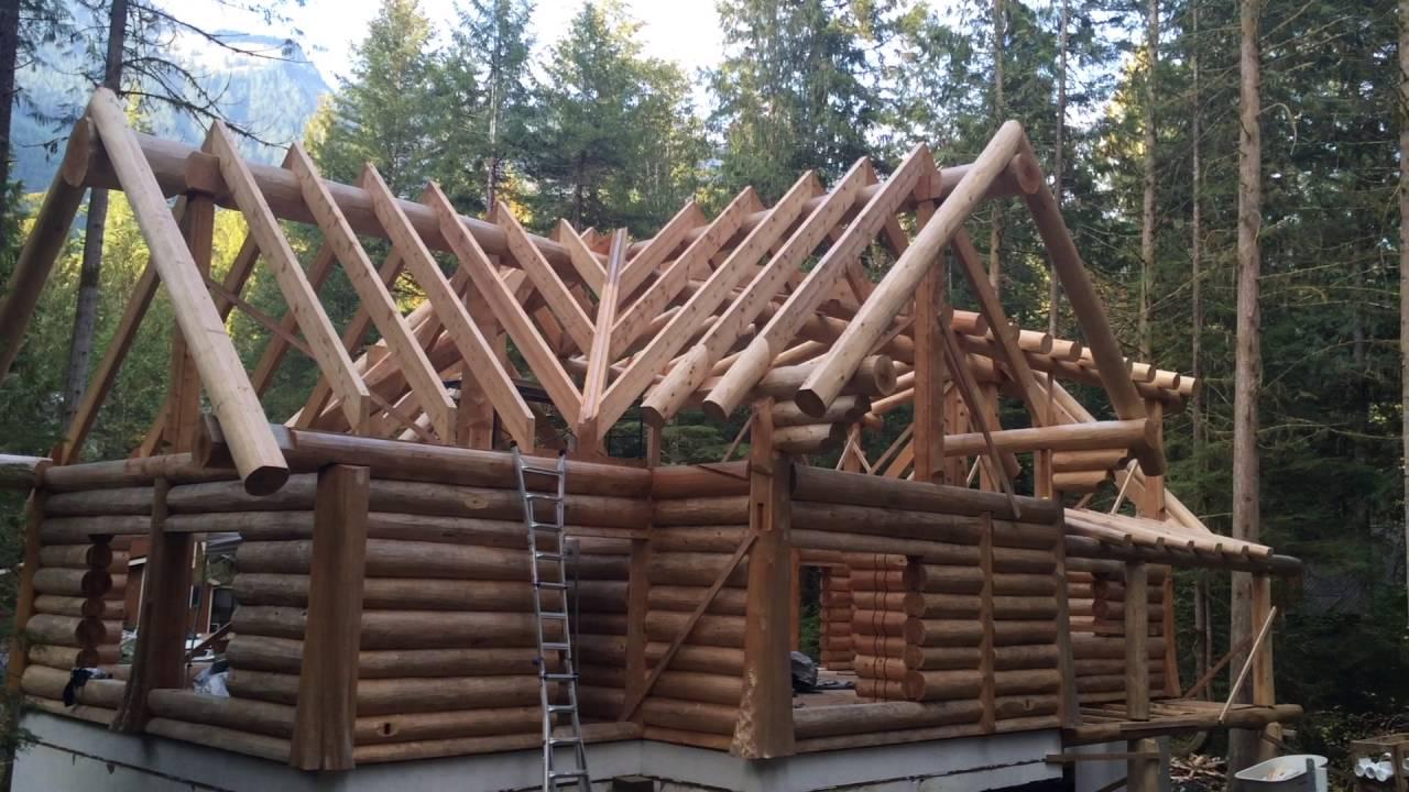 Working With Cedar Logs
