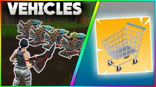 DRIVABLE VEHICLES Coming To Fortnite Battle Royale!? | LEAKED FILES | Possible AIRCRAFTS? | Update