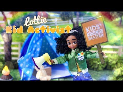 Unbox Daily: Lottie Kid Activist Doll PLUS Campfire Fun Play Set