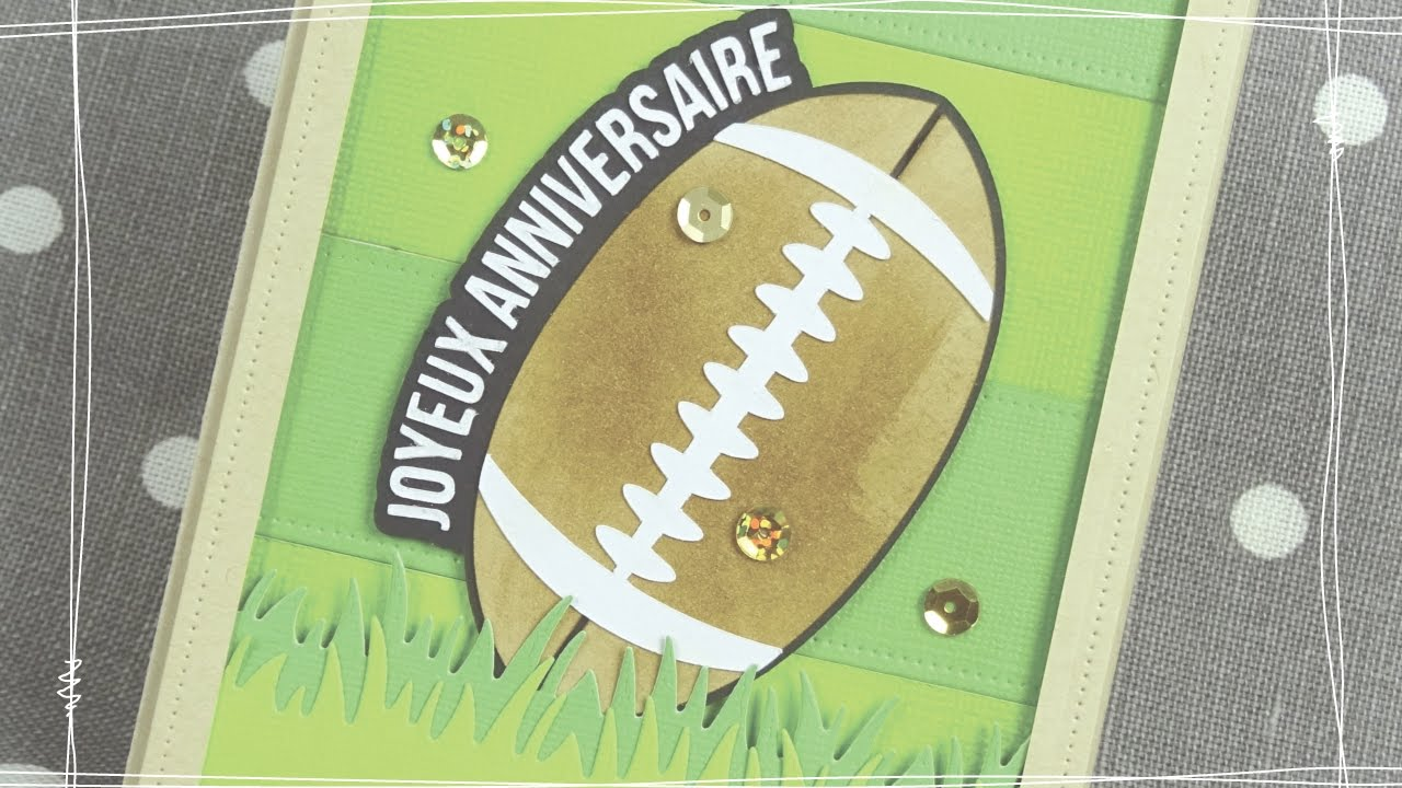 2017carte Anniversaire Rugby 1