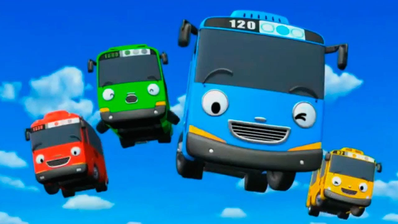 The little Bus / Monster Trucks for Children / Video For ...