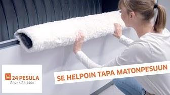 24 Pesula | Se helpoin tapa matonpesuun