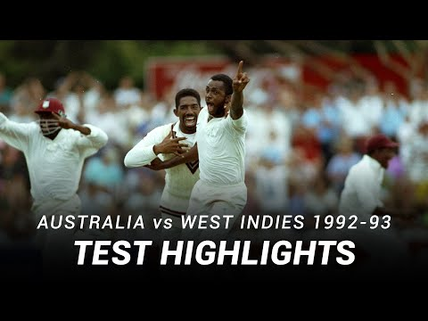LIVE Flashback: Australia V West Indies | Fourth Test | Adelaide, 1993