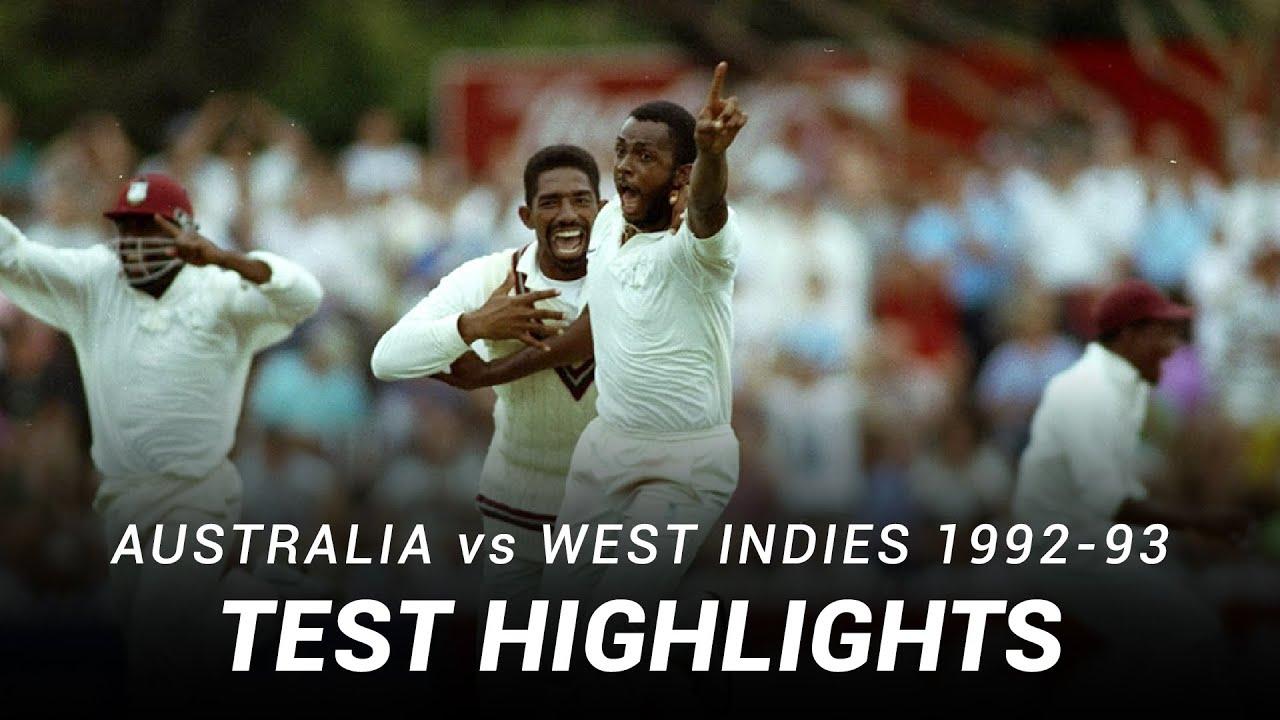 Download LIVE Flashback: Australia v West Indies   Fourth Test   Adelaide, 1993