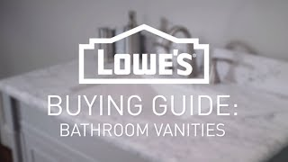 How To Choose The Right Vanity | Buying Guide