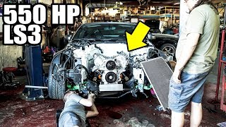 homepage tile video photo for 550HP LS3 GOES IN THE 350Z!