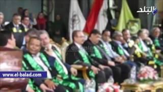 بالفيديو والصور.. وزير التعليم العالى يكرم رؤساء جامعة بني سويف السابقين