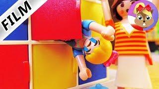 Playmobil Film polski: HANIA ZDENERWOWANA PRZED POZNANIEM NOWEJ KLASY! UKRYWA SIĘ W SZAFCE...