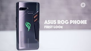Asus ROG Phone First Look: Gaming smartphone | Asus ROG Price | Asus ROG Phone Features & Specs