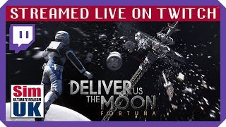 Deliver Us the Moon FORTUNA ~ part 1 ~ STREAMED LIVE ON TWITCH