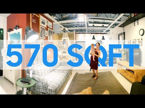IKEA'S 570 SQFT Tiny Home for a Family of 4!?!