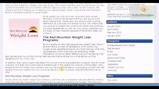 Red Mountain Weight Loss **