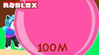 BLOWING THE BIGGEST BUBBLE IN THE WORLD! Roblox Bubblegum Simulator