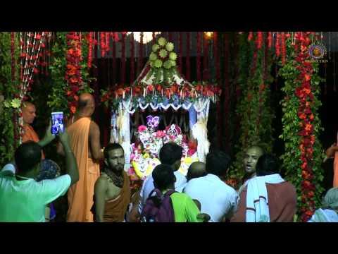 20170803 Sri Sri Radha Madhava Jhulan Yatra - Day 1 Evening Aarti.