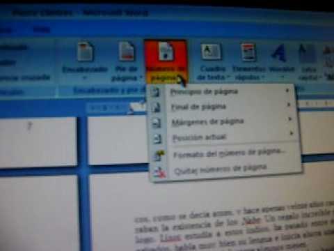 Configurar libro en Word 2007 - YouTube