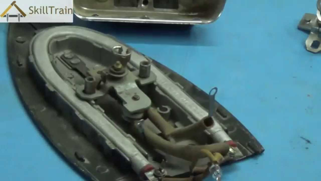 Introduction To The Internal Parts Of An Automatic Electric Iron