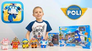 РОБОКАР ПОЛИ - Лучшие обзоры игрушек Robocar Poli от Даника - Базы, Машинки, Самолёты, Роботы