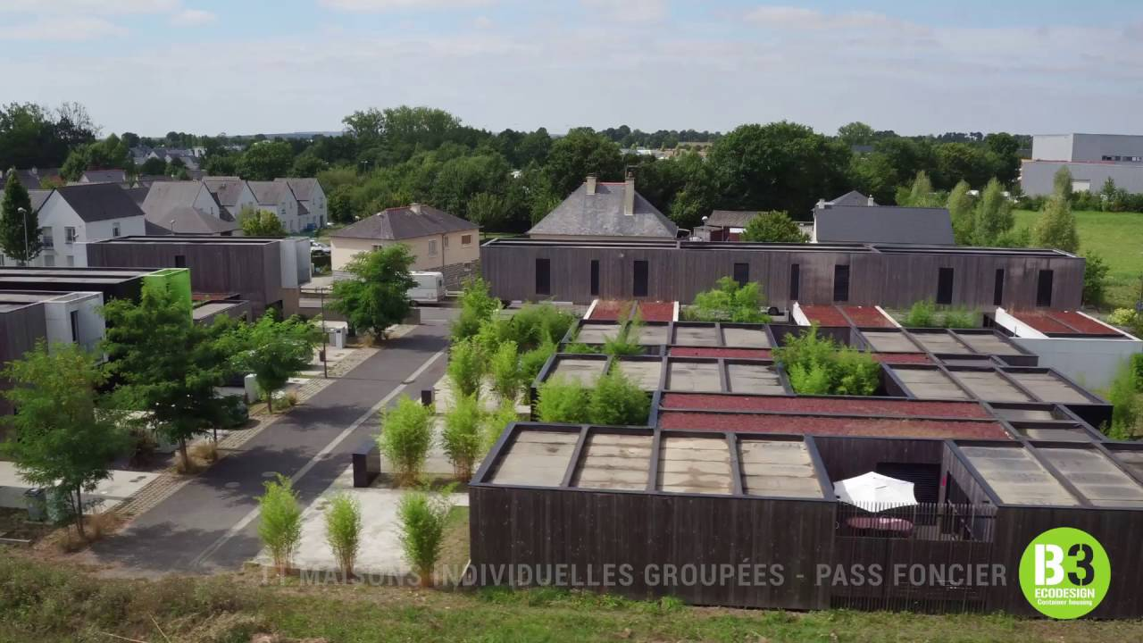 Container housing b3 ecodesign maisons containers youtube for Maison container youtube