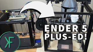 Creality Ender 5 Plus: Build and Preview
