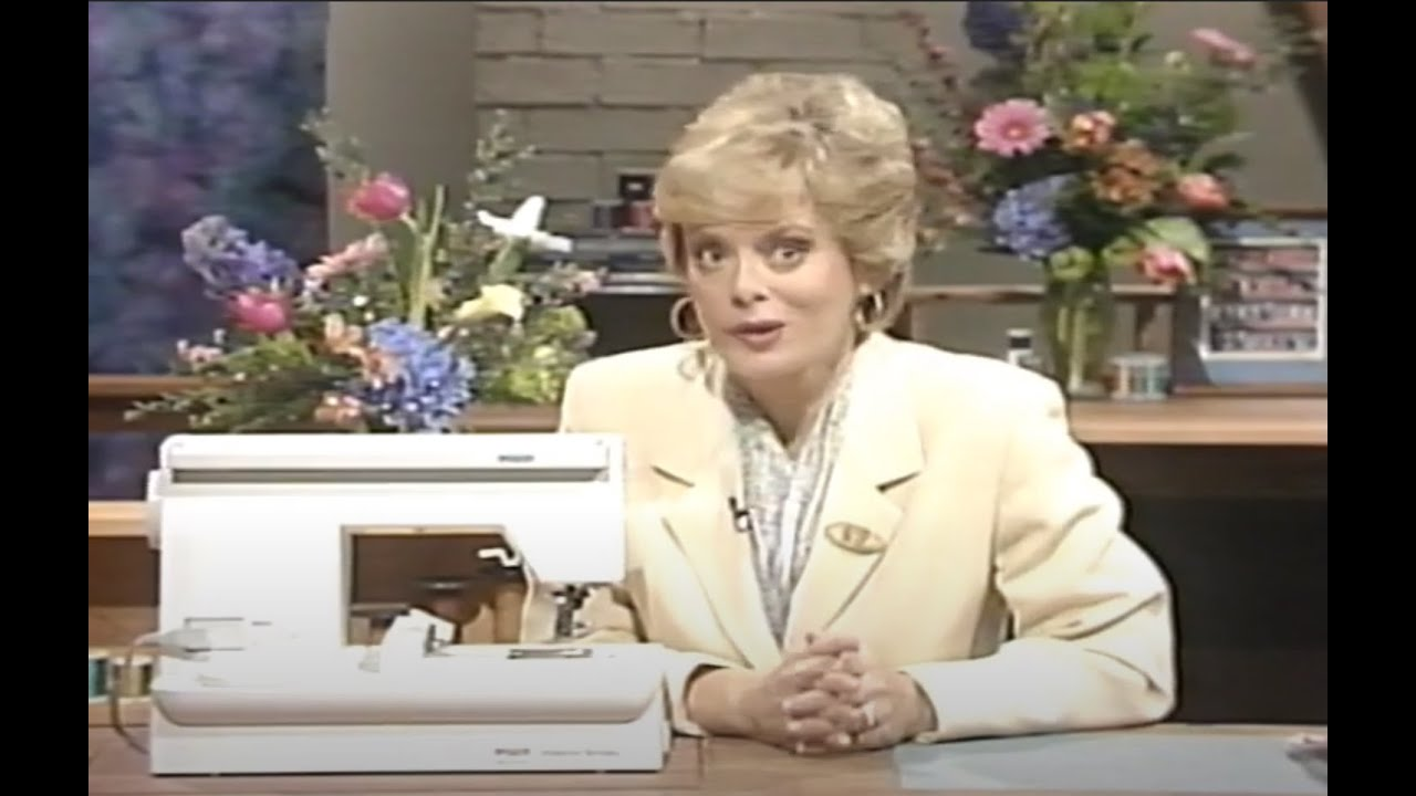 Pfaff Spotlight Features Of The Creative 7570 Narrated By Nancy Zieman Vhs 1998 Youtube