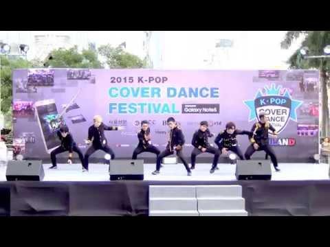 150905 9Richter cover BTS - Danger + Dope @Thailand 2015 K-POP Cover Dance Festival