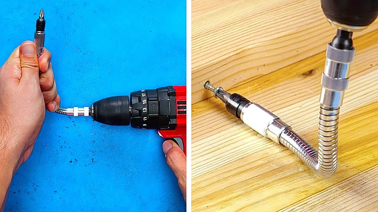 34 DRILL HACKS that you can really apply
