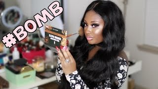 B.O.M.B Drugstore Makeup Tutorial | Black Owned Makeup Brands Matter | Makeupd0ll