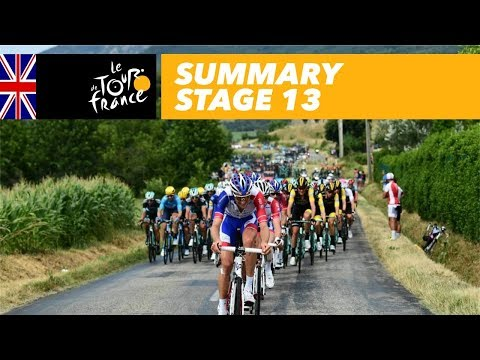 Summary - Stage 13 - Tour de France 2018